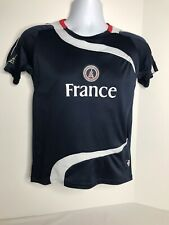 France Soccer Jersey National Team Fr Size 14 Small Shirt Ss Blue White Red