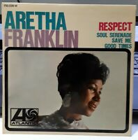 FRENCH EP ARETHA FRANKLIN - RESPECT - ATLANTIC 750.028 - FRANCE 1967