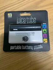 New Juice Tube Portable Battery Power Bank IPhone/Mobiles charger Black