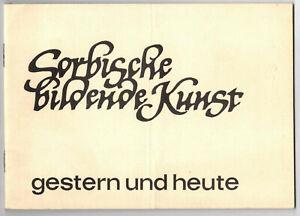 Sorbische bildende Kunst gestern und heute 1966 DDR Sorben (H6