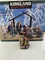 Kirkland Signature Porcelain Nativity #75177 Kneeling King W/ Beard Replacement