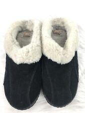 Sorel Women's Nakiska Suede Slide Slippers Black  Sizes 7