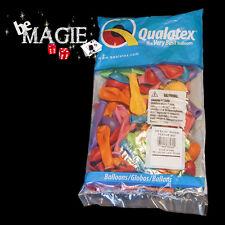 "100 Ballons Qualatex ROND 5"" FESTIVE - Magie - sac sculpture"