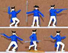 Timpo Dismounted American Revolution U.S. Infantry Swoppets  - 6 in 6 poses