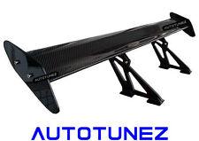 """UNIVERSAL 49"""" Carbon fiber 3D GT WING SPOILER DRIFT PRO Tunezup"""