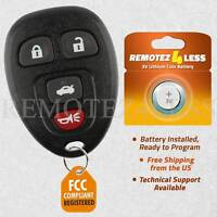Replacement for Buick Chevy Pontiac Saturn Entry Keyless Remote Car Key Fob 4btn