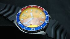 Vintage Seiko divers 7002 CLASSIC ORANGE DIAL BB ORANGE SAPPHIRE CRYSTAL K50