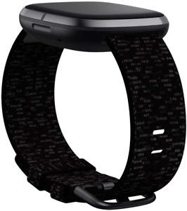 Fitbit Versa 3 Sense Fitness Tracker Band Breathable Sport Woven Fabric Strap