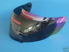 2 Visors Full Face Motorcycle Helmet Tinted Mirror
