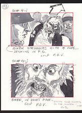 SHE'S OUT OF CONTROL 1989 ORIGINAL STORYBOARD ART ALTERNATES CARL ALDANA #4I-J A