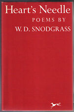 HEART'S NEEDLE: POEMS by W.D. SNODGRASS (1959 hardcover) 1ST EDITION