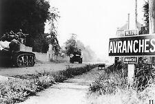 WW2 - Avranches - Entrée des Américains le 31 juillet 1944