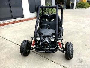 90cc Offroad Dune Buggy Quad ATV Teen Twin Seat Gokart Kids  Under 1.50m
