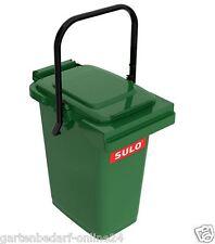 SULO Abfalltonne Komposteimer Abfalleimer Mini Mülltonne 25 L grün NEUWARE.