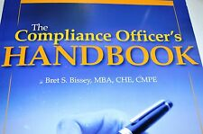 The Compliance Officer's Handbook Paperback Bret S. Bissey Incl CD NEW