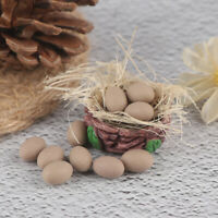 1/12 1/6 Dollhouse Miniature Accessories Kitchen Food Mini Egg with BasketJCAUJC