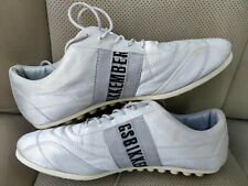 Dirk Bikkembergs Authentic Vintage Womens Sneakers Soccer Shoes Silver Trainers