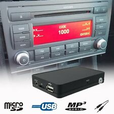 Car Stereo USB AUX SD MP3 CD Changer Adapter -Audi A4/B7 TT/MK2 A3 2007-2012