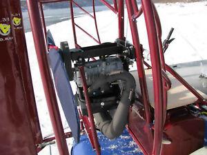 Exhaust system for Rotax 503, 447,377 Paramotor Trike Nanotrike ultralight