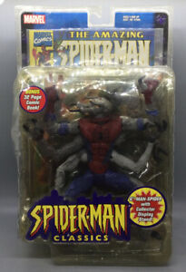 Marvel Legends Spider-Man Classics Series II Man-Spider Comic Book Toy-Biz 2001