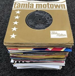 "JOB LOT OF 100 x 7"" singles 45rpm R&B Soul, Disco, Funk, Motown etc *ALL LISTED*"