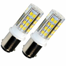 2-Pack HQRP BA15d 110V LED Bulb for Bernina 950 1000 1004 1005 1010 1015
