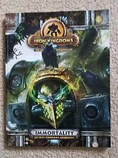 Iron Kingdoms Rpg: Immortality - Nm