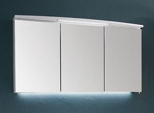 Puris Badmöbel > LED Spiegelschrank > SPEED 14 - weiß 120 cm NEU