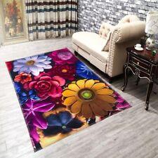 40cm*60cm Flower 3D Printing Hallway Rugs Bedroom Living Room Tea Table Carpet