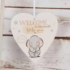 Welcome to the World Little One Baby Gift Disney Baby Nursery Plaque Gift
