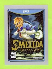 "2017 TOPPS WACKY PACKAGES 50TH ""SILVER"" LEGEND OF SMELLDA BREAK OF WIND #21/50"