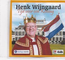 Henk Wijngaard-Tijd Voor Een Koning promo cd single
