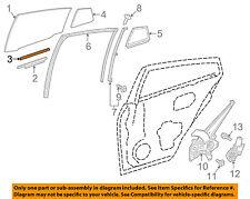 Toyota Oem 16-18 Prius Glass-Rear Door-Filler Strip 6997547020