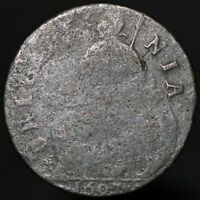 1697 | William III Half-Penny | Copper | Coins | KM Coins