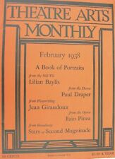 More details for theatre arts monthly x3 editions from 2/3/4 ~ 1938