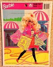 Vintage Barbie Shopping Day Golden Frame-Tray Puzzle, 1990 Mattel, 45128-7