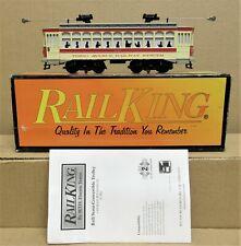 MTH Railking 30-5106-1 NY Transit Brill Semi-Convertible Trolley w/PS2 O-Gauge