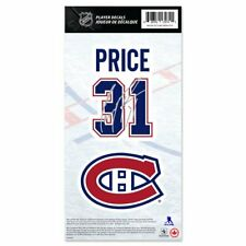 Montreal Canadiens Carey Price Name & Number Decal Sticker Set Hockey NHL