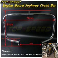 Motorcycle Engine Guard Crash Bar Fit Honda Shadow Aero VT 750 750C 400 04-11
