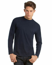 Crew Neck Patternless Band T-Shirts for Men