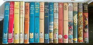 Lot of 17 Landmark & Signature Juvenile History Books, Vintage 1950s Hardcovers