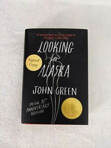 SIGNED Looking for Alaska by John Green (2015) Hardcover, Special 10th Anniversa