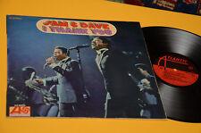 SAM & DAVE LP I THANK YOU 1°ST ORIG ITALY 1968 EX TOP RARE !!!!!!!!!!