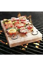 LARGE NEW PINK HIMALAYAN ROCK SALT PLATE NATURAL ORGANIC BBQ SLAB CHARCOAL COOK