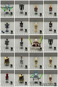 LEGO® Star Wars Droiden Figur Battle Droid 2-1B TX-20 Genral Grievous Auswahl