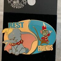 Walt Disney World Trading Pin Dumbo & Timothy Best Friends 2 Pin Set 2003