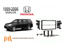 NEW 1999-2006 HONDA CR-V Car Stereo Double DIN Dash Kit, Tool Set
