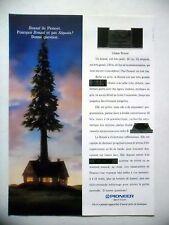 PUBLICITE-ADVERTISING :  PIONEER Bonzaï  1990 Hi-Fi,Son,Séquoia