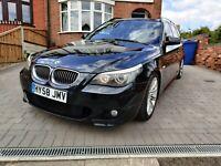 2008 58 BMW E61 535d 286 BHP LCI SPORT AUTO TWIN TURBO FULL HISTORY