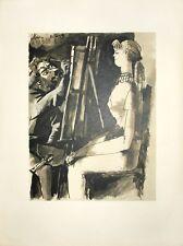 Pablo Picasso - Dessins de Picasso Verve 29/30 - Artist and Model - Lithograph